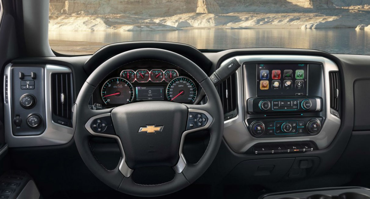 2021 Chevrolet Colorado Z71 Interior
