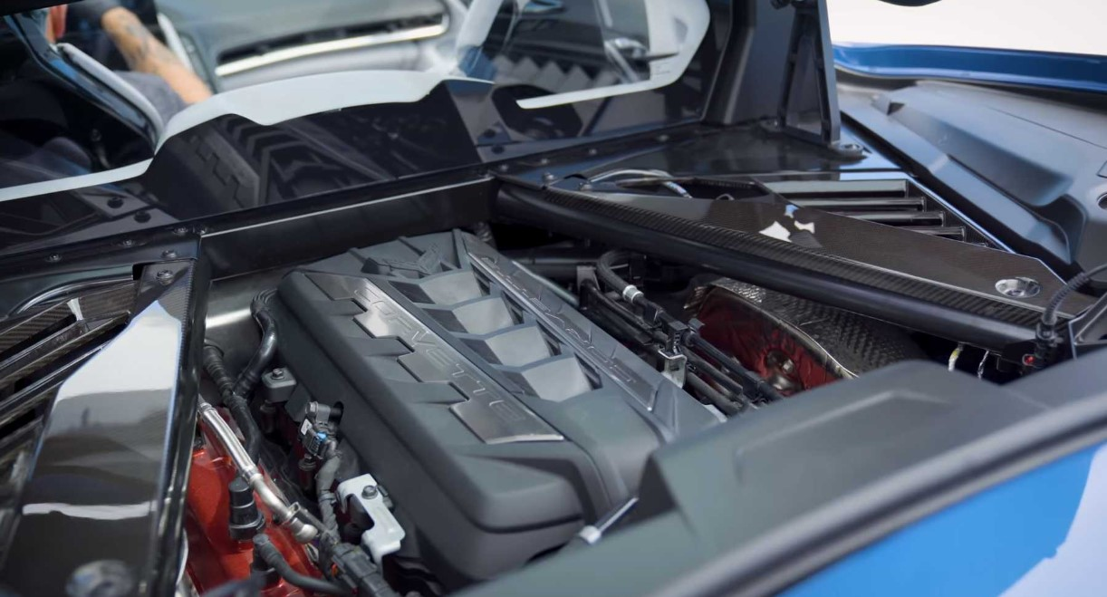 2021 Chevrolet Corvette Stingray Engine