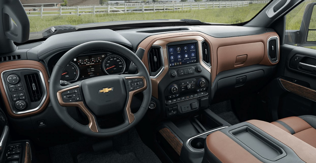 2021 Chevrolet Silverado 2500HD Interior