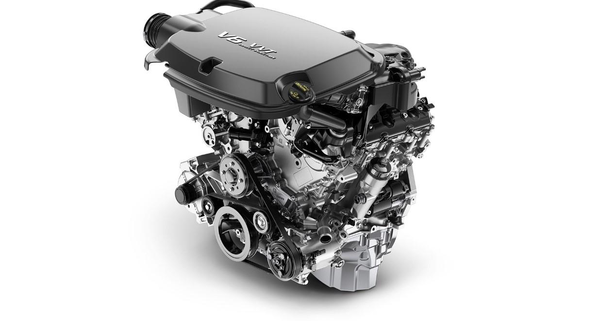 2021 Chevy Colorado Engine