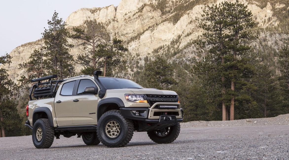2021 Chevy Colorado ZR2 Exterior