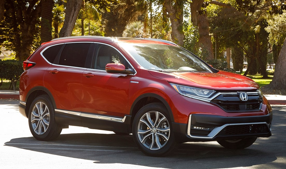 2021 Honda CRV Exterior
