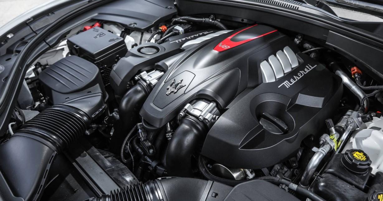 2021 Maserati Granturismo Engine