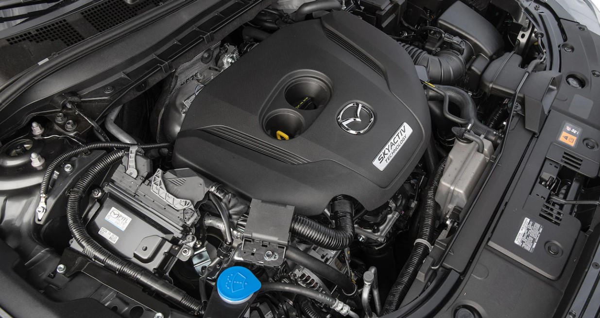2021 Mazda CX 5 Engine