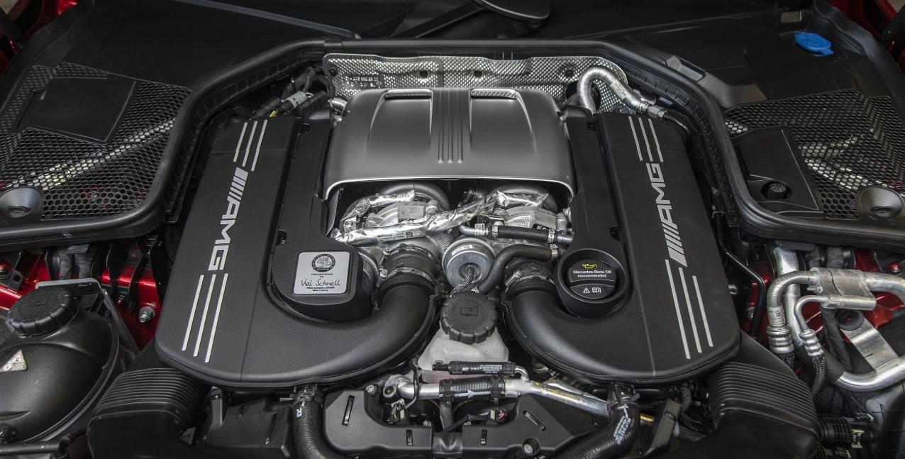 2021 Mercedes AMG C63 Engine