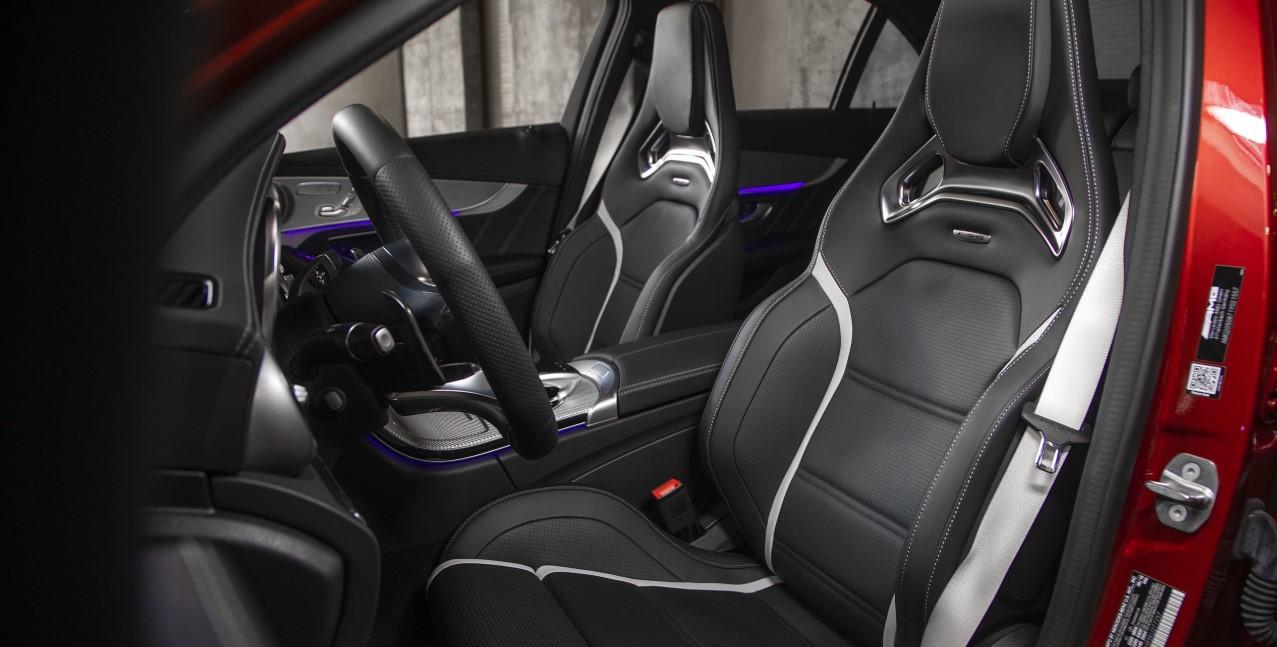 2021 Mercedes AMG C63 Interior