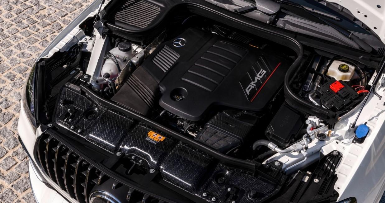 2021 Mercedes AMG GLE 53 Coupe Engine