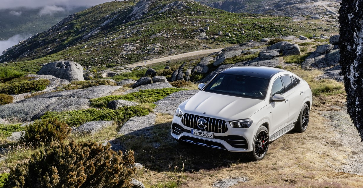 2021 Mercedes AMG GLE 53 Coupe Exterior