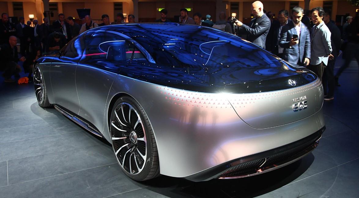 2021 Mercedes-Benz EQS Engine