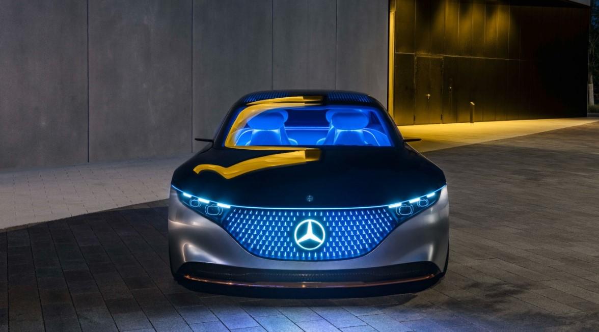 2021 Mercedes-Benz EQS Exterior