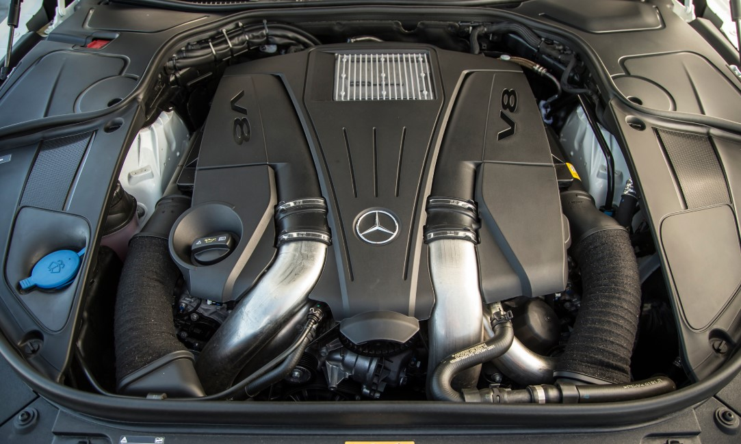 2021 Mercedes Benz S550 Engine