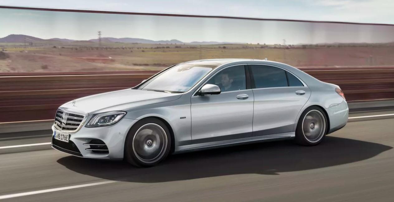 2021 Mercedes Benz S550 Exterior