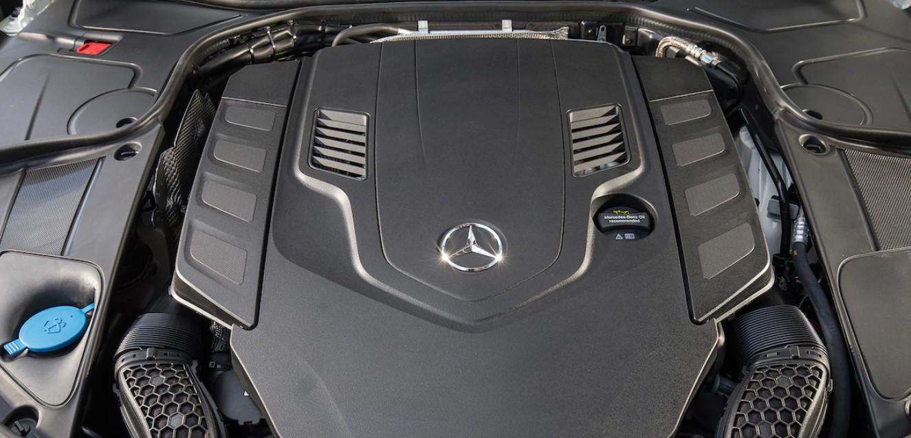2021 Mercedes Benz S560 Engine