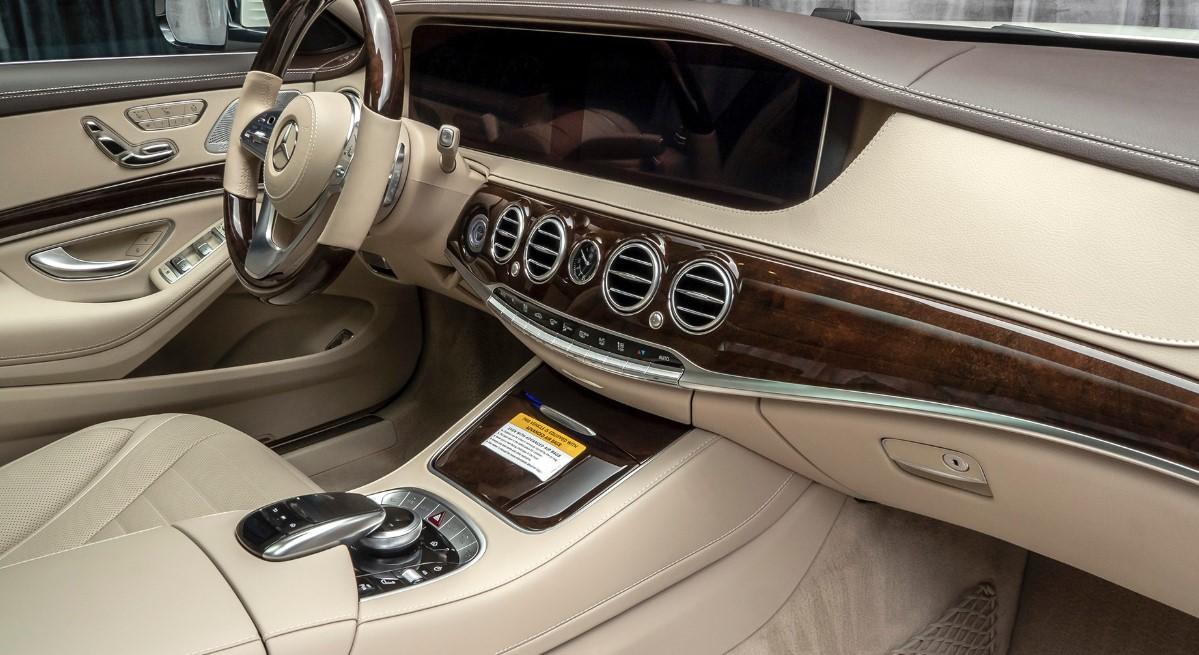 2021 Mercedes Benz S560 Interior