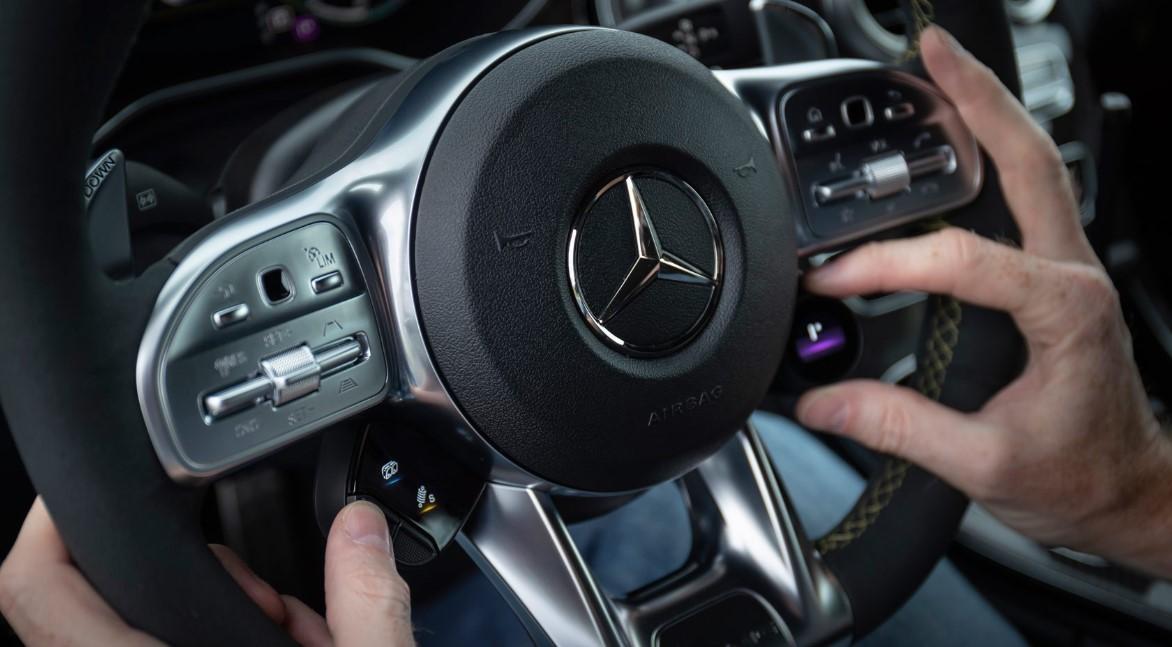 2021 Mercedes C63 AMG S Interior