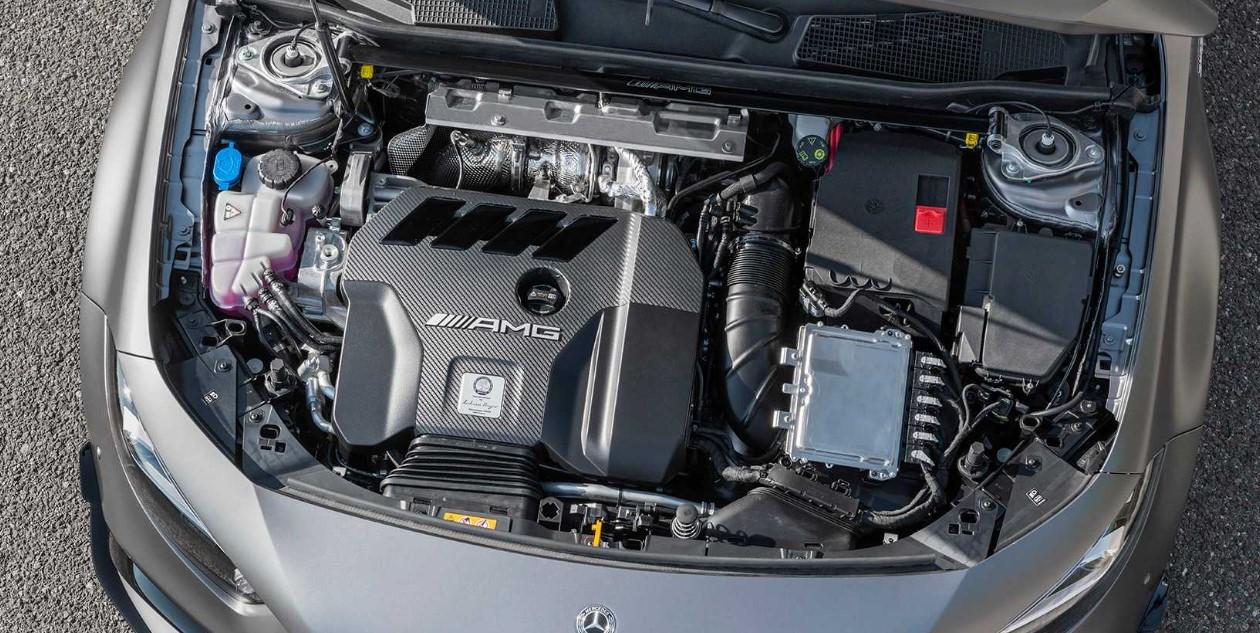 2021 Mercedes C63 Engine