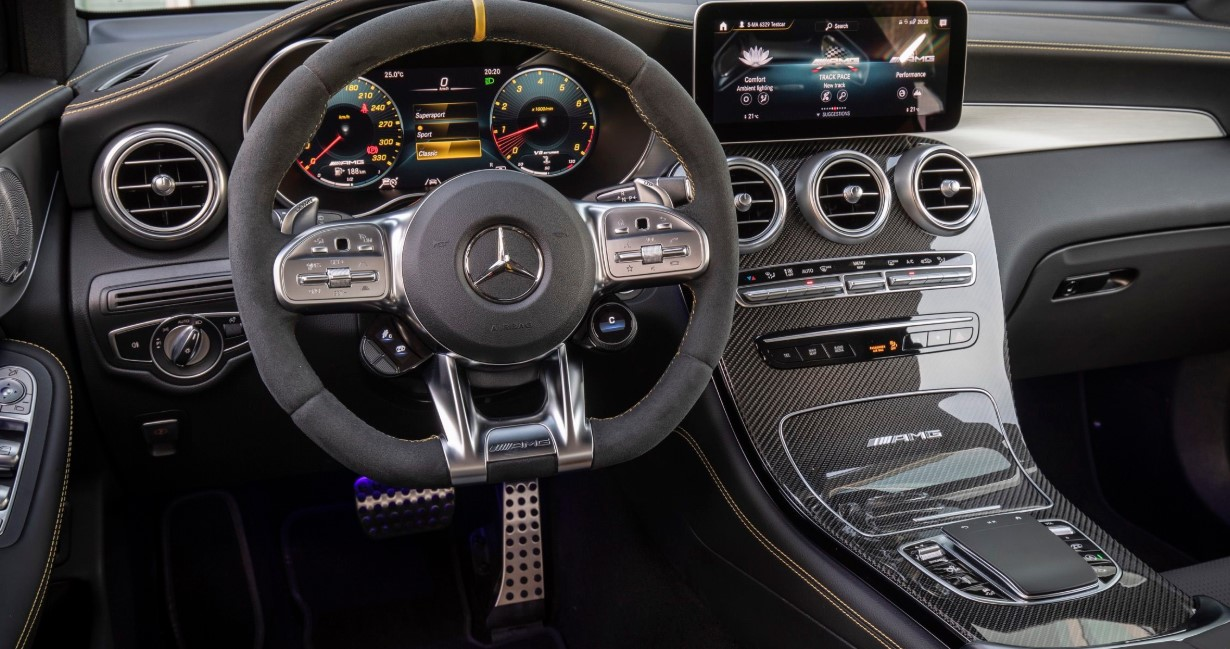 2021 Mercedes C63 Interior