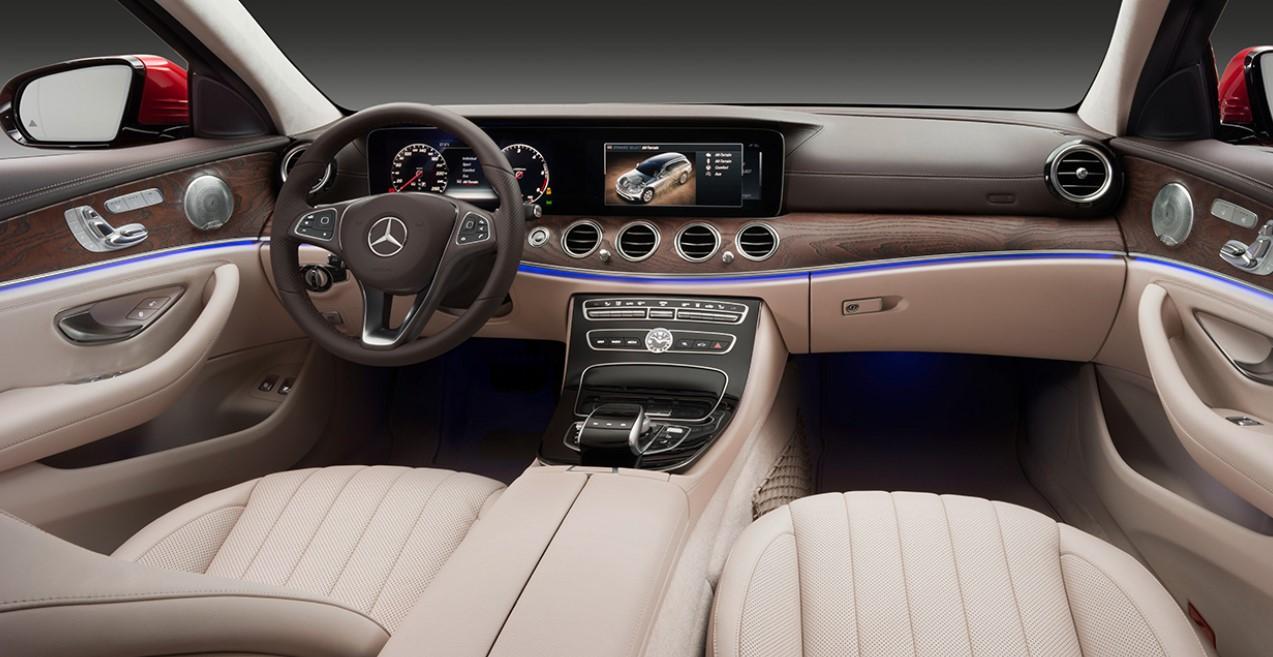 2021 Mercedes E Class Wagon Interior