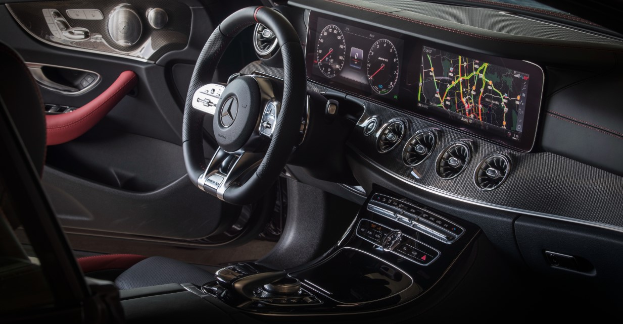 2021 Mercedes E Coupe Interior