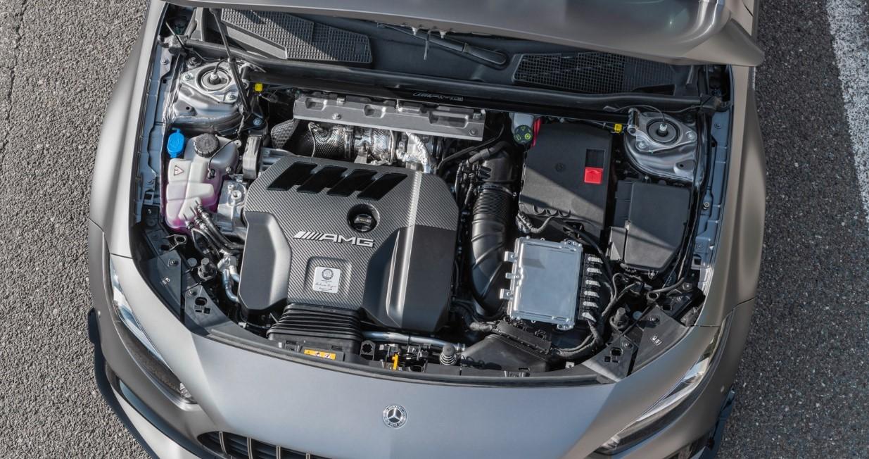 2021 Mercedes E63 AMG S Engine