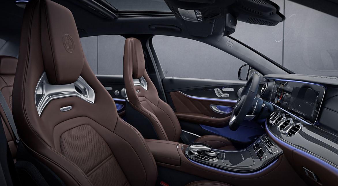 2021 Mercedes E63 AMG S Interior