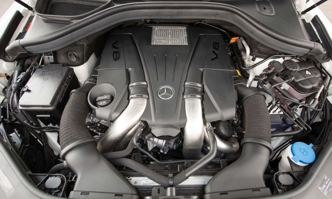 2021 Mercedes GLS 550 Engine