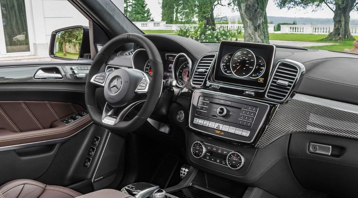 2021 Mercedes GLS 550 Interior