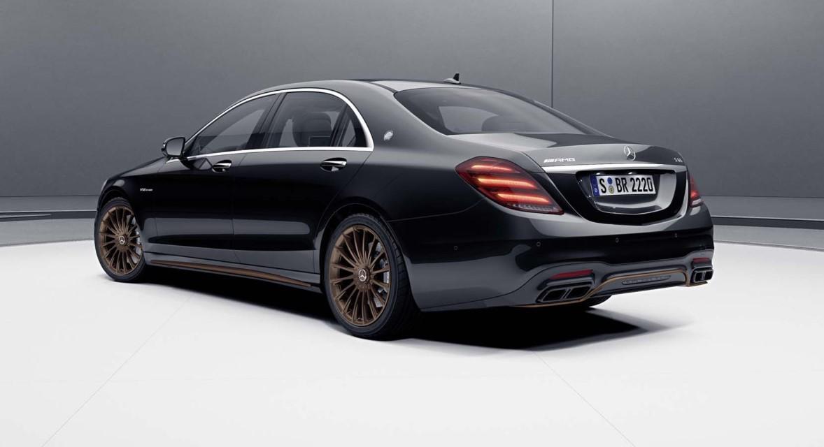 2021 Mercedes S Class AMG Engine