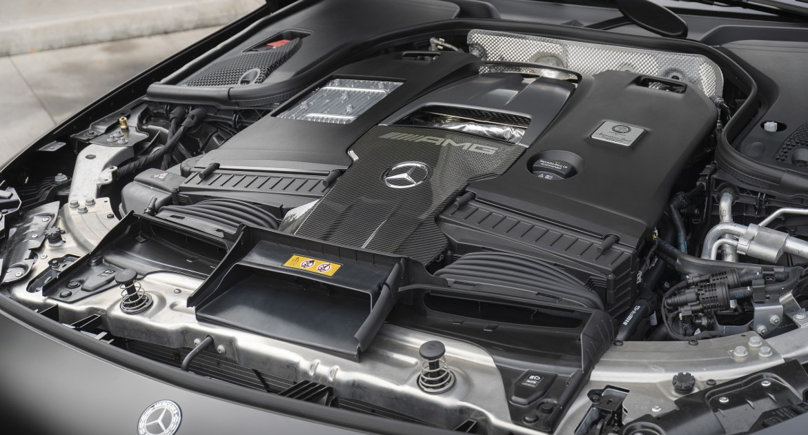 2021 Mercedes S Coupe Engine