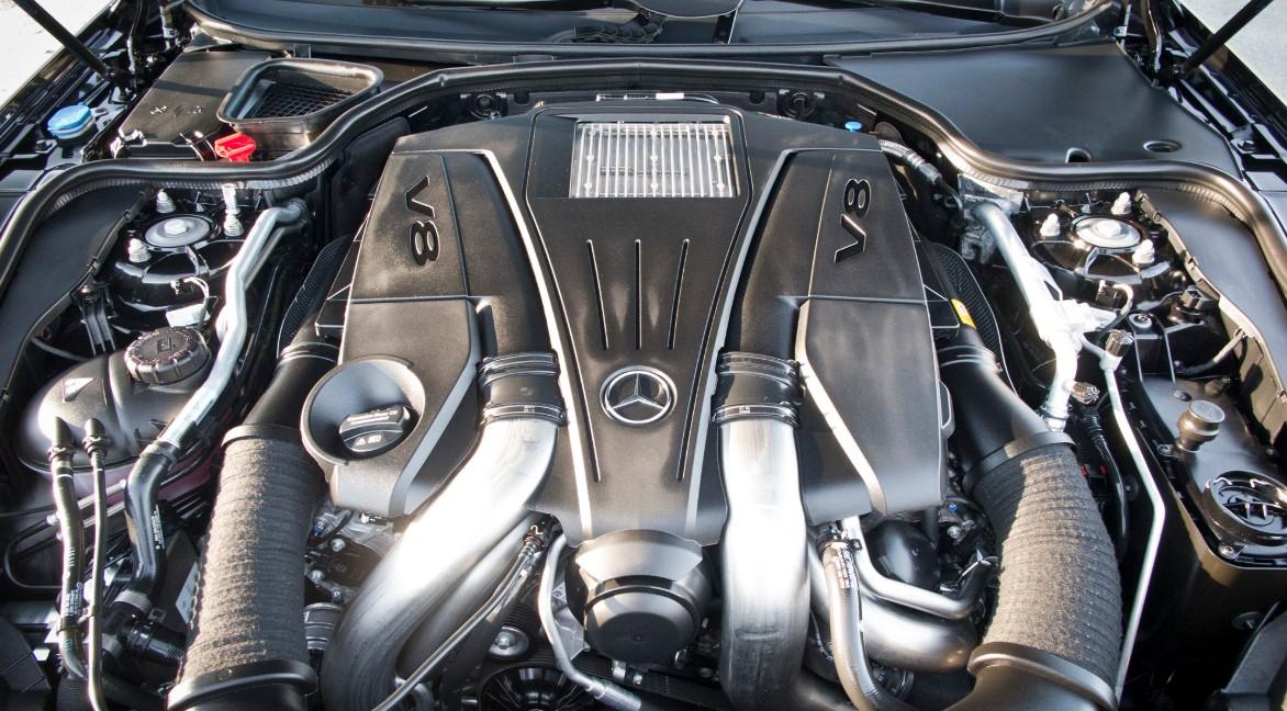 2021 Mercedes SL550 Engine
