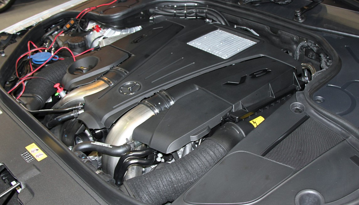 2021 Mercedes SL550 Engine