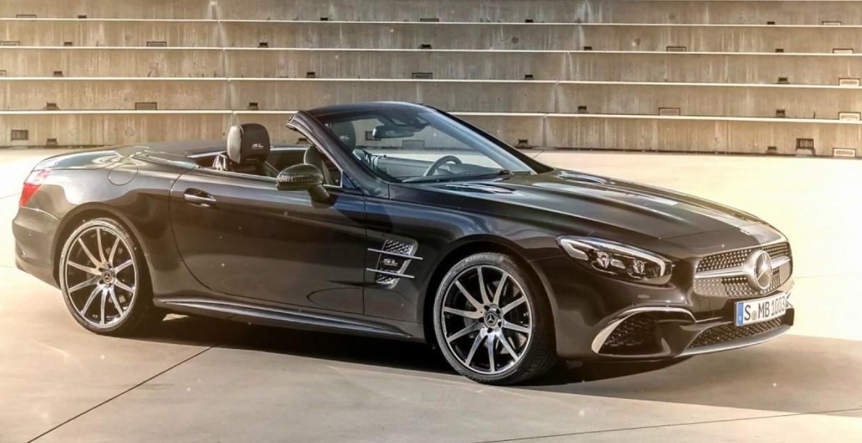 2021 Mercedes SL550 Exterior