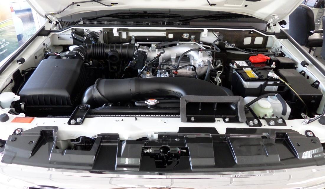2021 Mitsubishi Pajero Engine