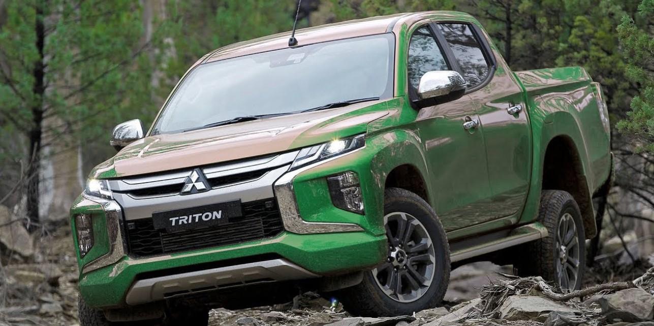 2021 Mitsubishi Triton Exterior