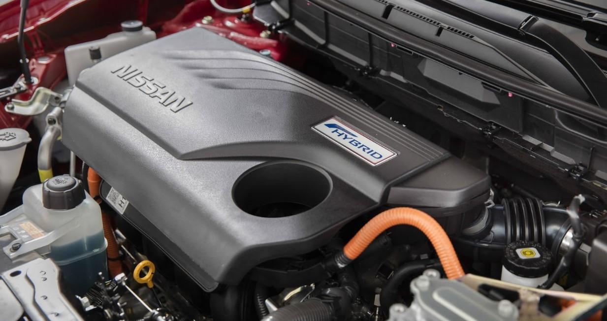2021 Nissan Rogue Engine