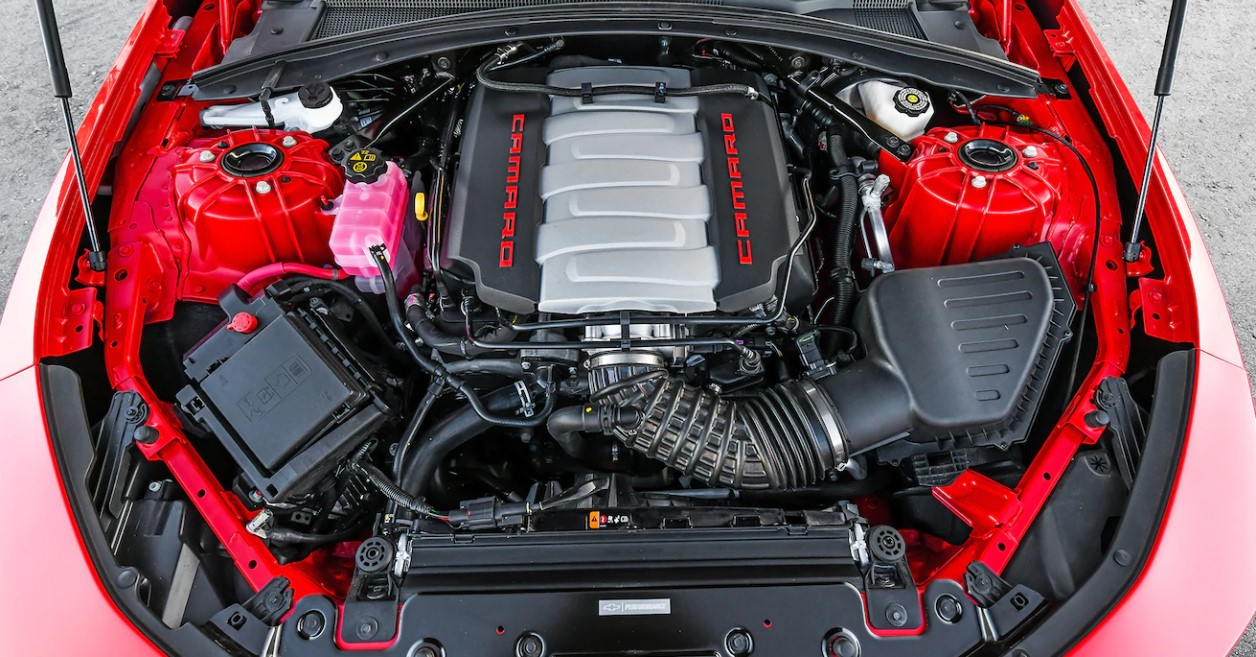 2022 Chevrolet Camaro Engine