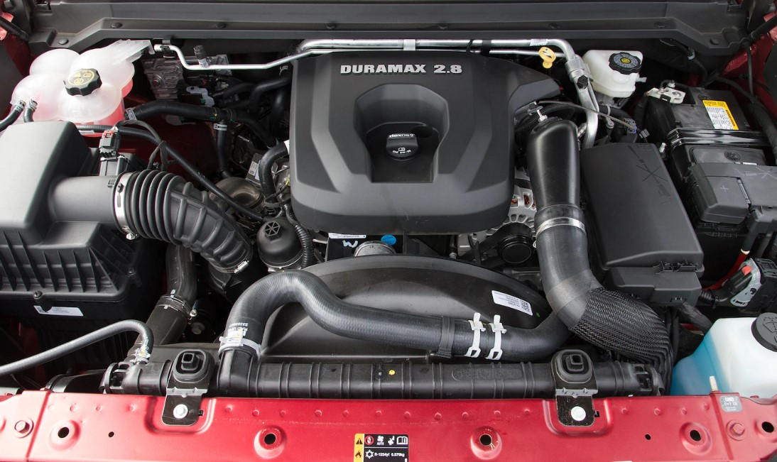 2022 Chevrolet Colorado ZR2 Engine