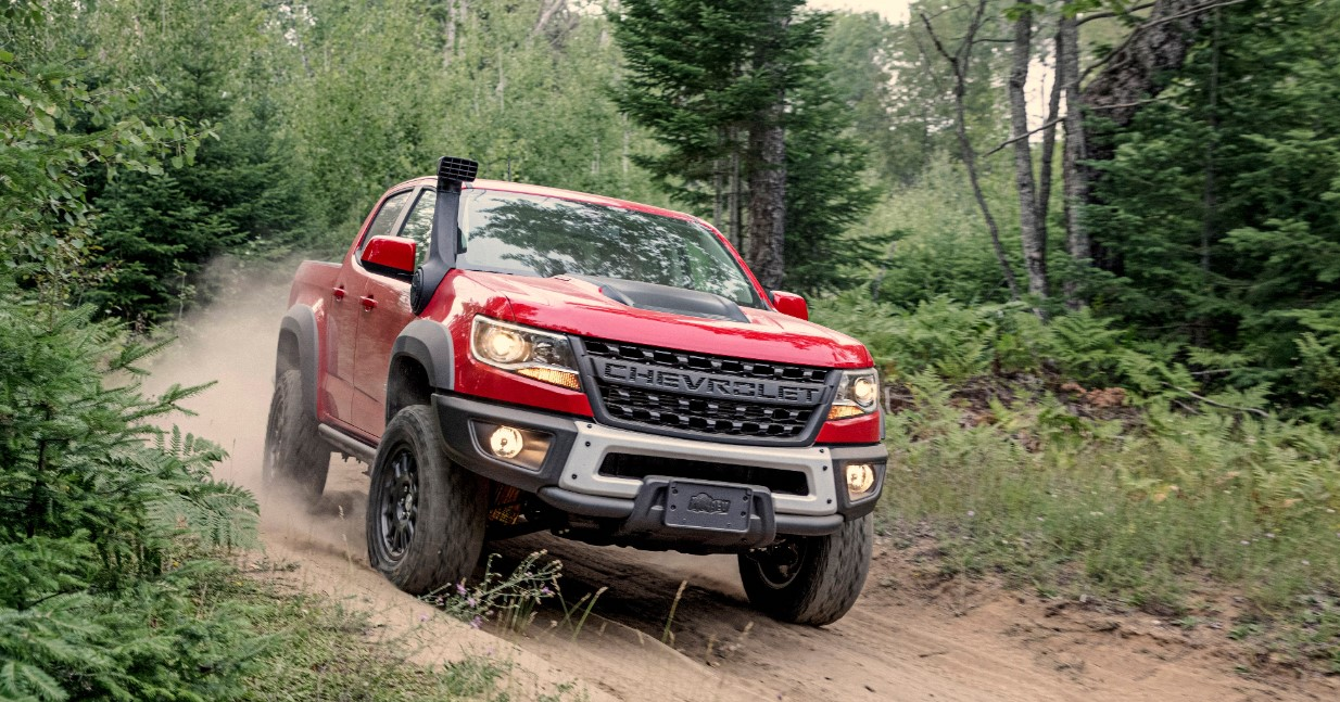 2022 Chevrolet Colorado ZR2 Exterior