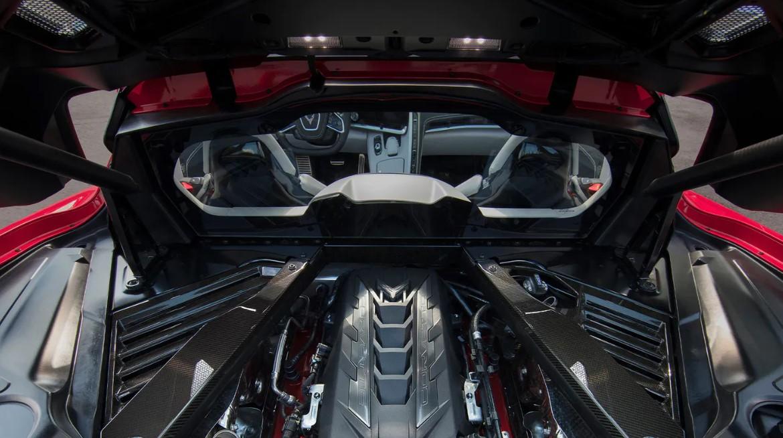 2022 Chevrolet Corvette Z06 Engine
