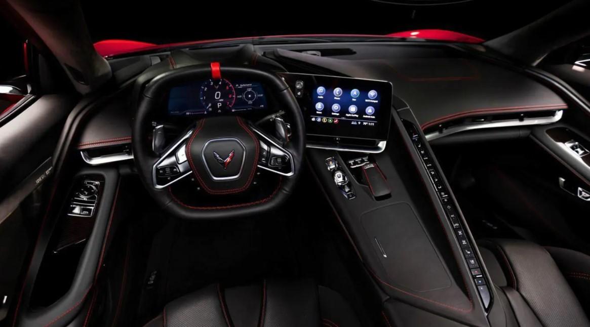2022 Chevrolet Corvette Z06 Interior