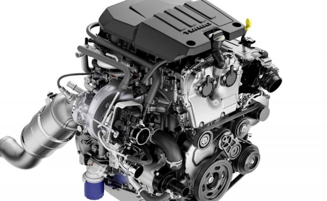 2022 Chevy Colorado Engine