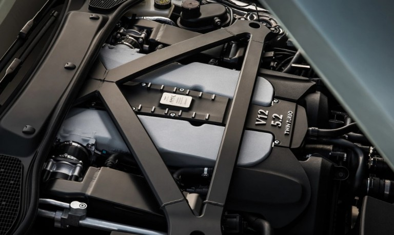 Aston Martin DB11 2021 Engine