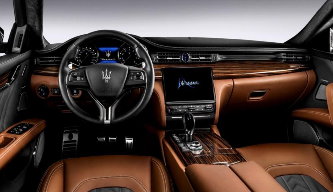 Maserati GranCabrio 2021 Interior