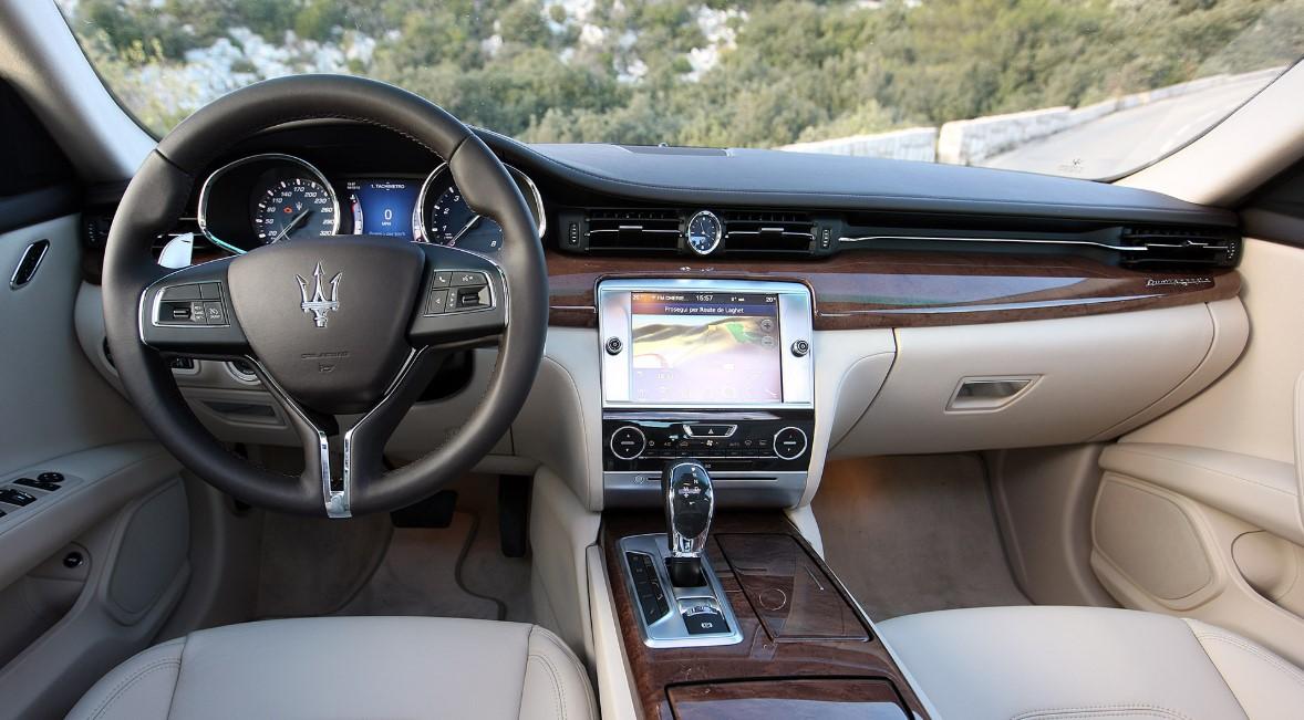 Maserati Quattroporte 2021 Interior