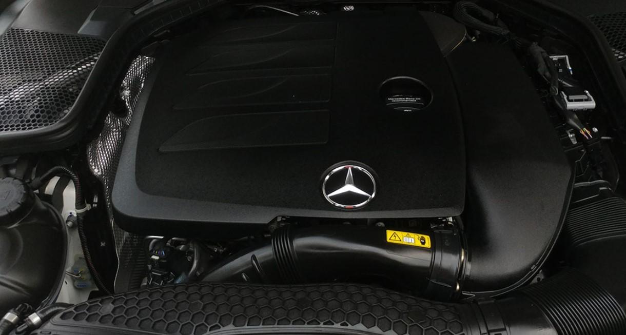 Mercedes C 2021 Engine