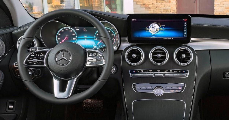 Mercedes C 2021 Interior