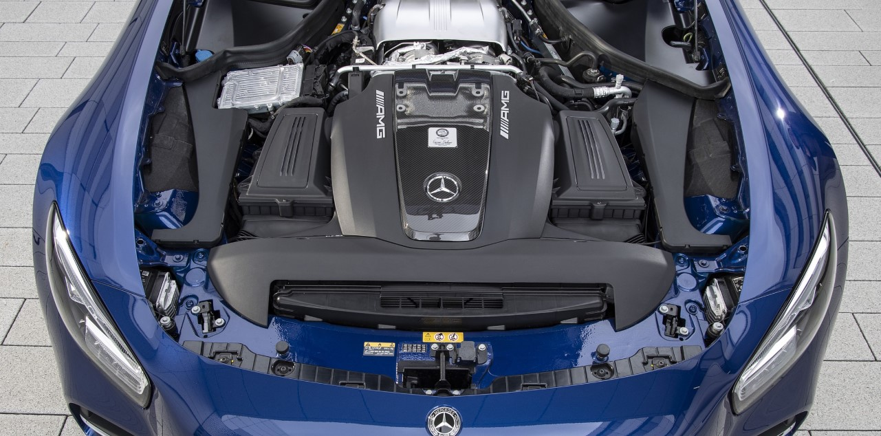 Mercedes SL AMG 2021 Engine