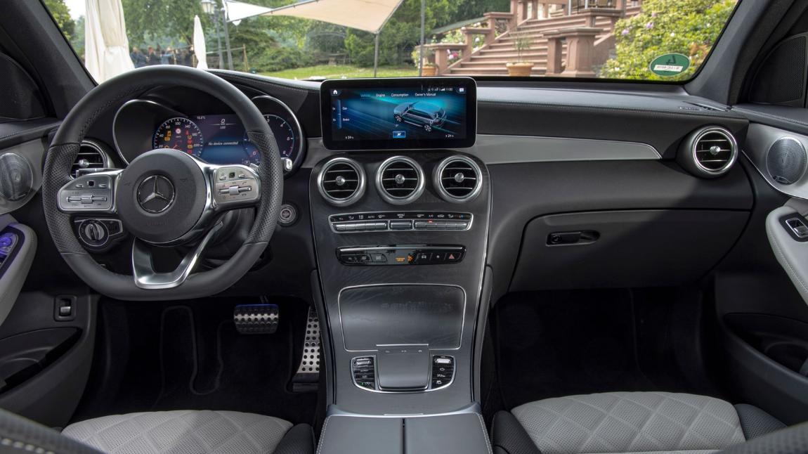 2020 Mercedes Benz GLC 300 Interior