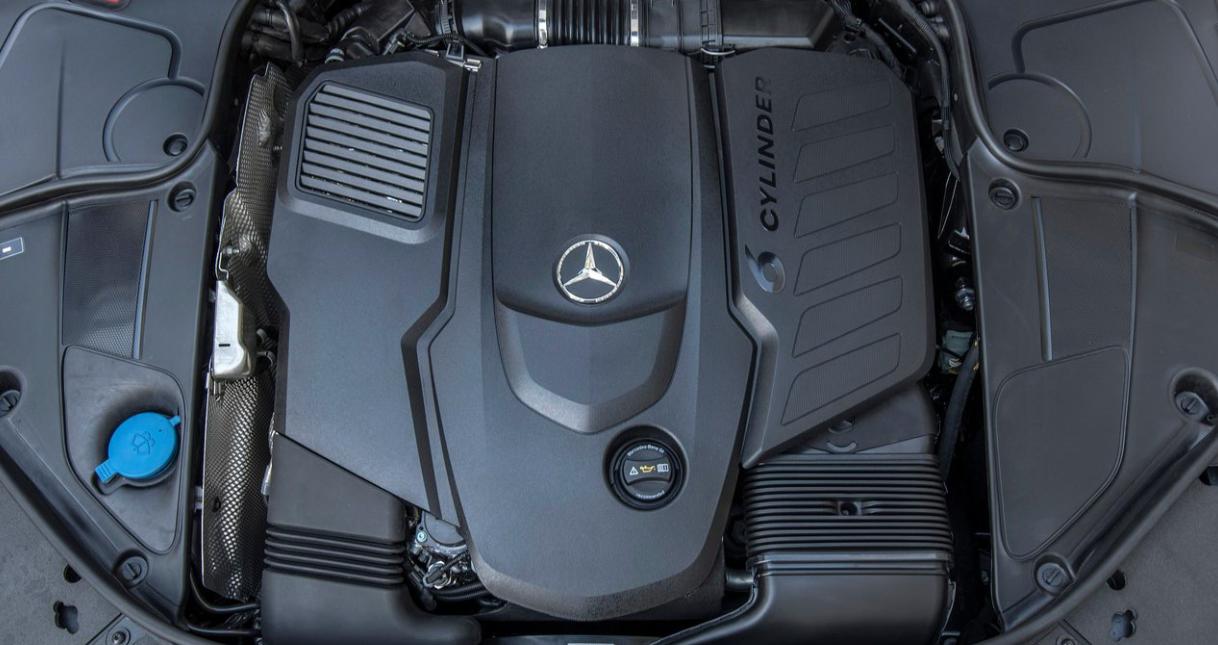 2020 Mercedes Benz S Class Engine