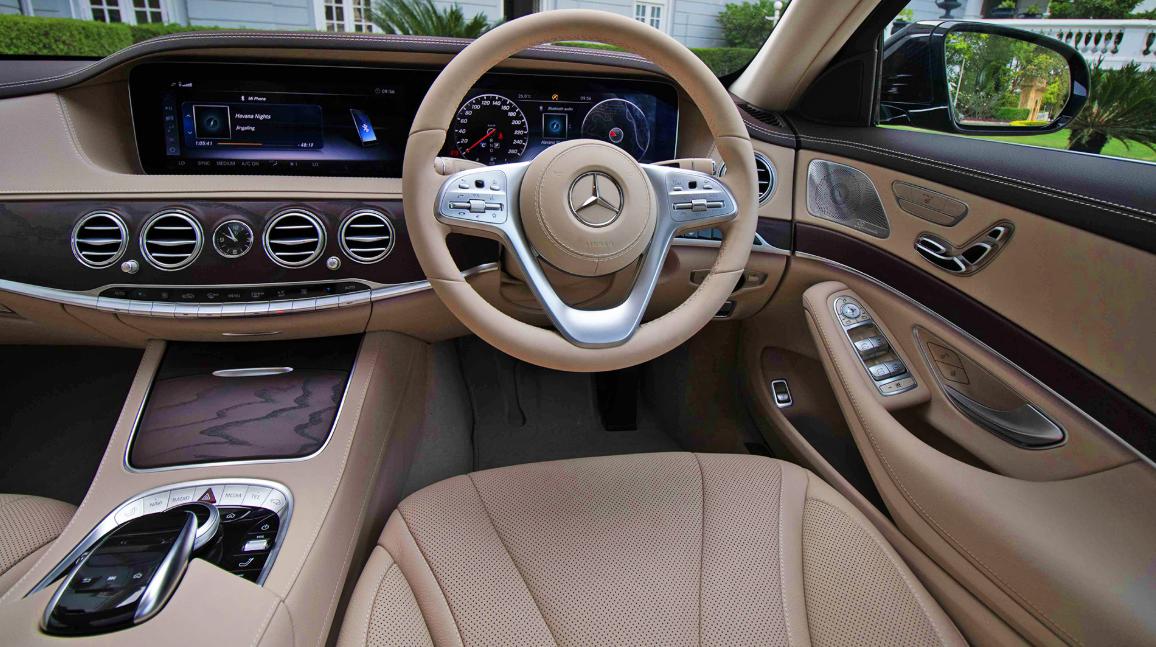 2020 Mercedes Benz S Class Interior